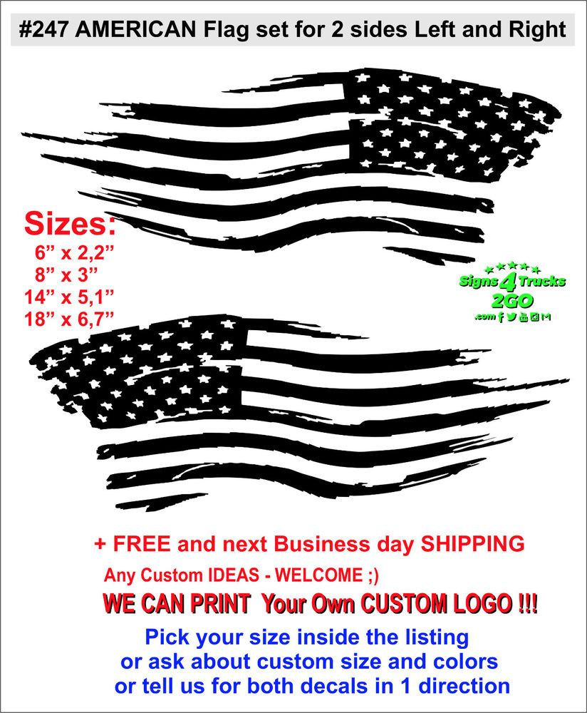 RUSTIC AMERICAN FLAG USA AMERICA FREEDOM VINYL DECAL STICKER TUMBLER CAR TRUCK