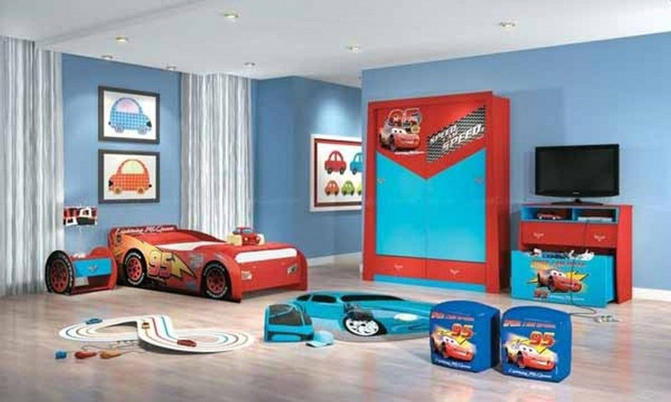 Decorate Boys Bedroom With Disney Cars Bedroom Ideas