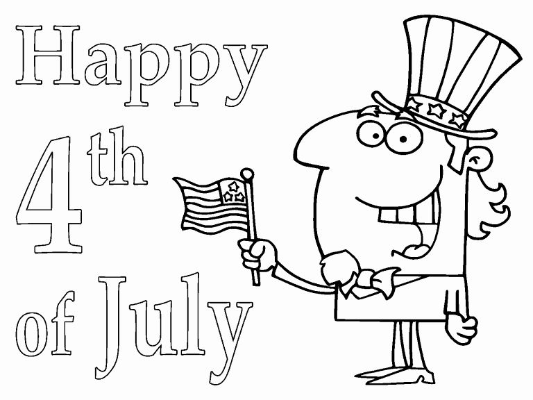 Uncle Tony S Coloring Book Elegant Uncle Sam 4th Of July Coloring