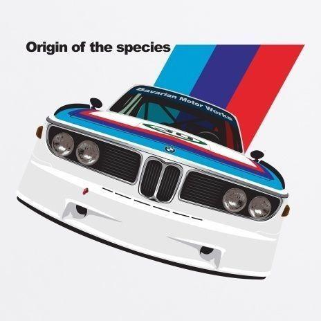 General Tee Origin Of Species T Shirt Bmw Bmw Art Bmw Cars