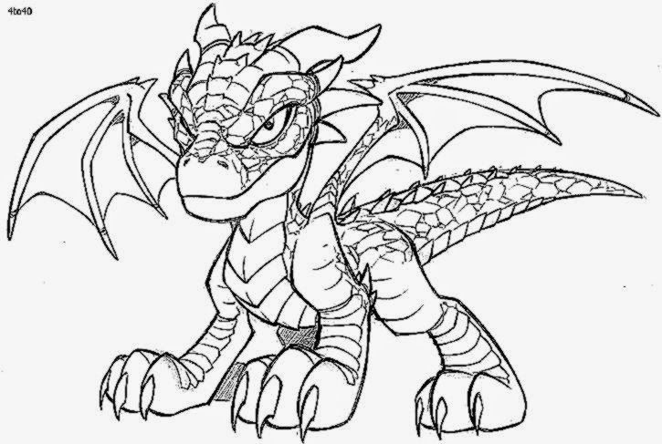 Pix For Dragon And Skull Coloring Pages For Adults With Images