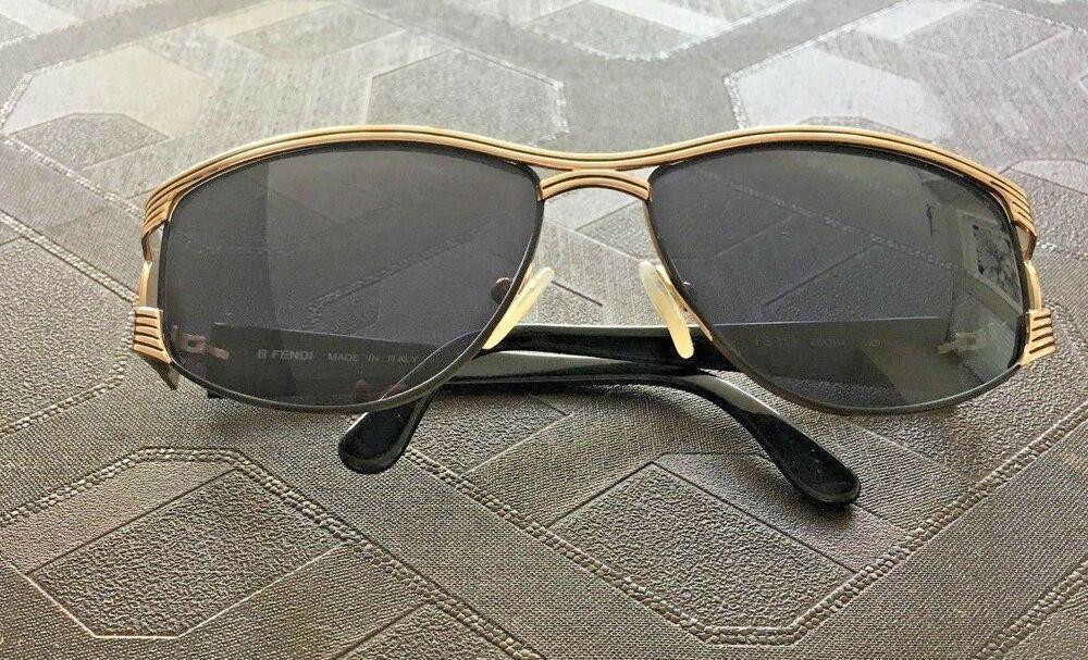 73298d3e7f5f00 Authentic FENDI FS 113 EBONY 120 Sunglasses. Made In Italy.  fashion   clothing