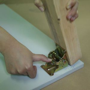 Foldable Table Legs Bracket Folding Leg Accessory Spring Loaded Self Lock