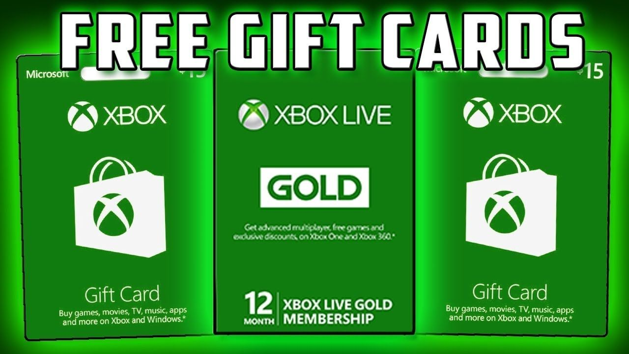 free xbox gift cards codes