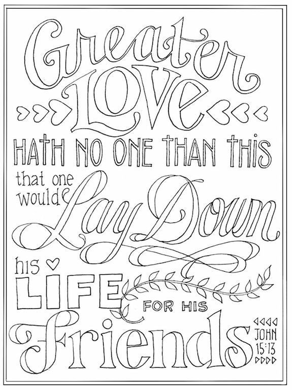 Free Printable Scripture Based Coloring Pages A New One Every