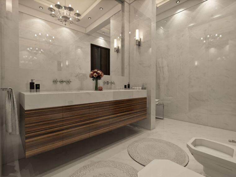 Imagenes de baños 102 ideas para espacios modernos | Baño moderno ...