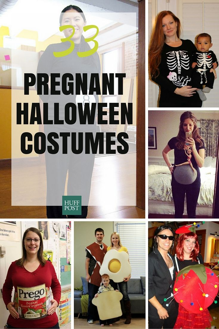 Here are 33 imaginative funny and downright quirky Halloween costumes for expectant moms.  sc 1 st  Pinterest & 33 Creative Halloween Costumes Just For Pregnant Women | Halloween ...