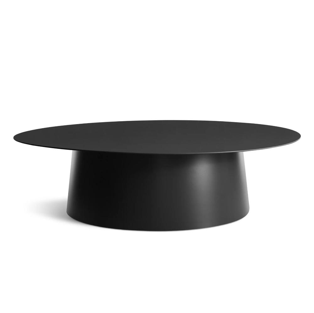 Circula Large Coffee Table Pedestal Coffee Table Round Coffee Table Modern Large Coffee Tables [ png ]