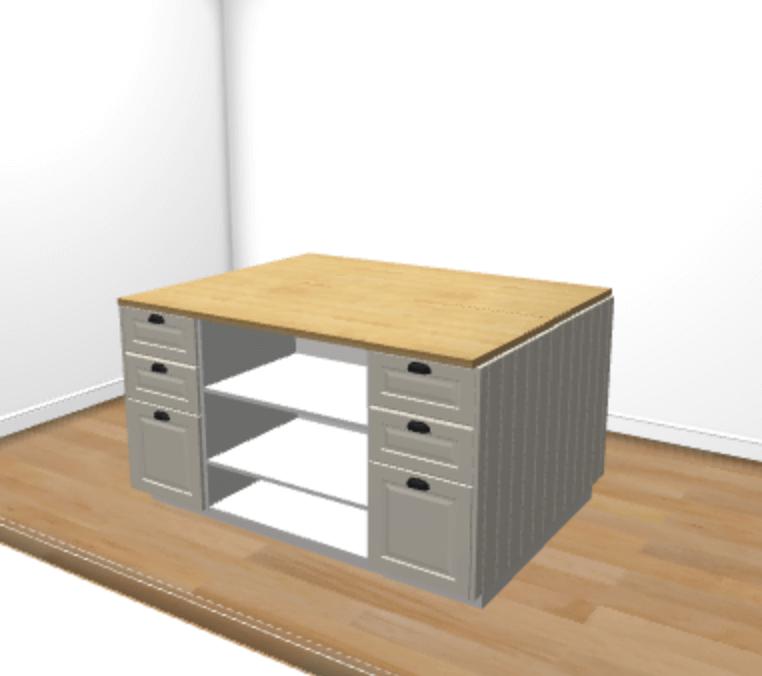 Ikea Kitchen Help: Hackers Help: Help Me Plan This Kitchen Island?