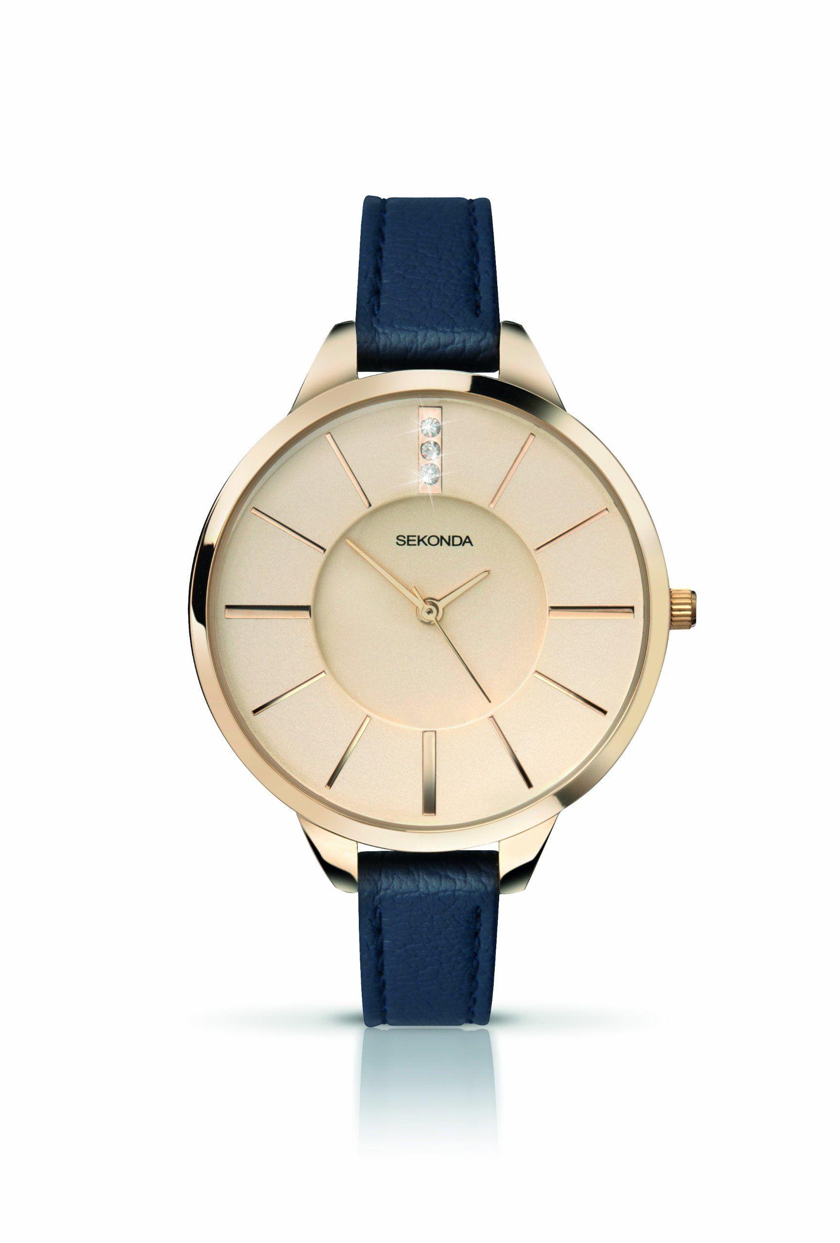 Sekonda Ladies Editions Blue Strap Watch 4017