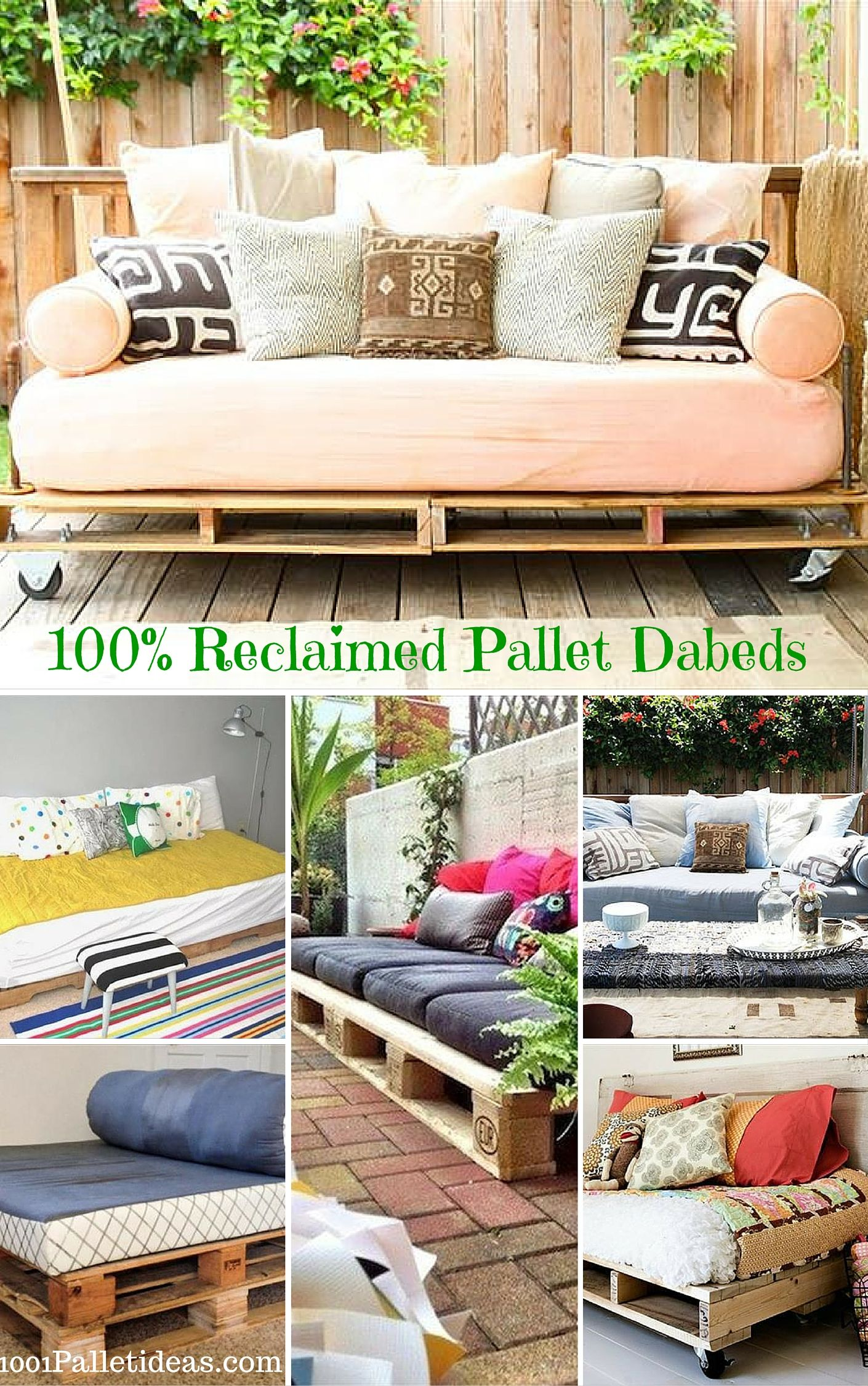 12 Diy Pallet Daybed Ideas 1001 Pallet Ideas Pallet Daybed Pallet Furniture Daybed Pallet Diy