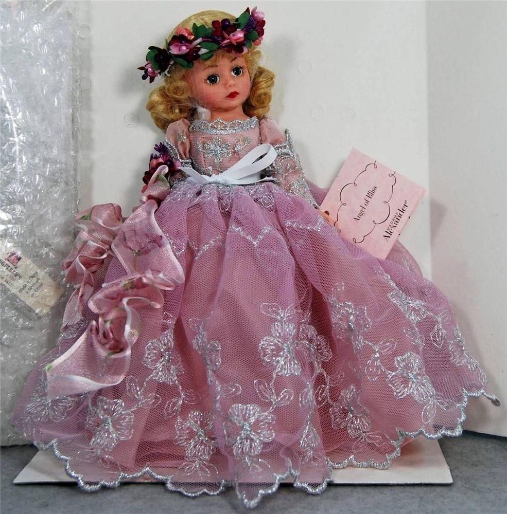 Blonde barbie pink dress  NRFB