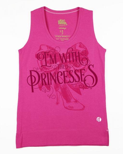 I'm With The Princesses Tank
