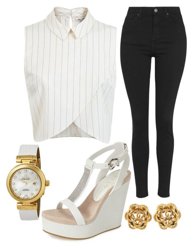 """Untitled #1040"" by pinkunicorn007 ❤ liked on Polyvore featuring Lola Cruz, Miss Selfridge, Topshop and OMEGA"