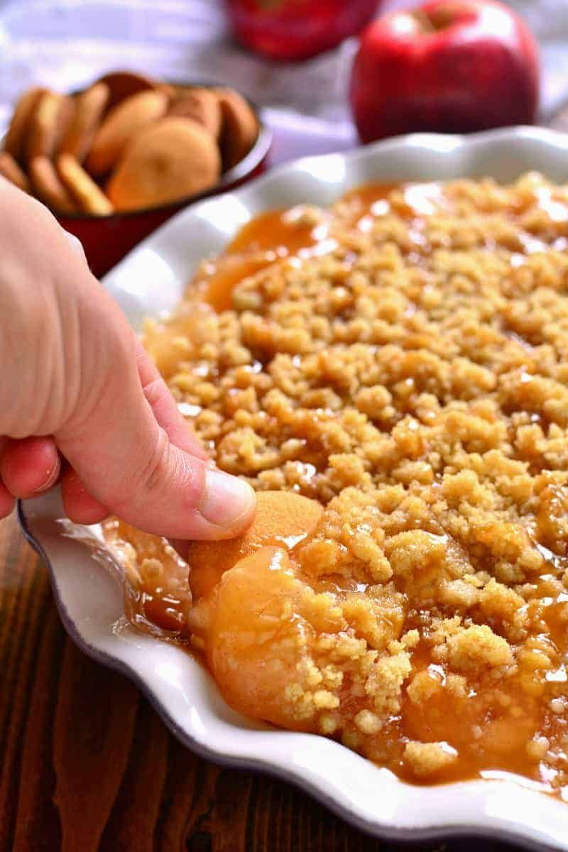 Baked Caramel Apple Cheesecake Dip – Lemon Tree Dwelling