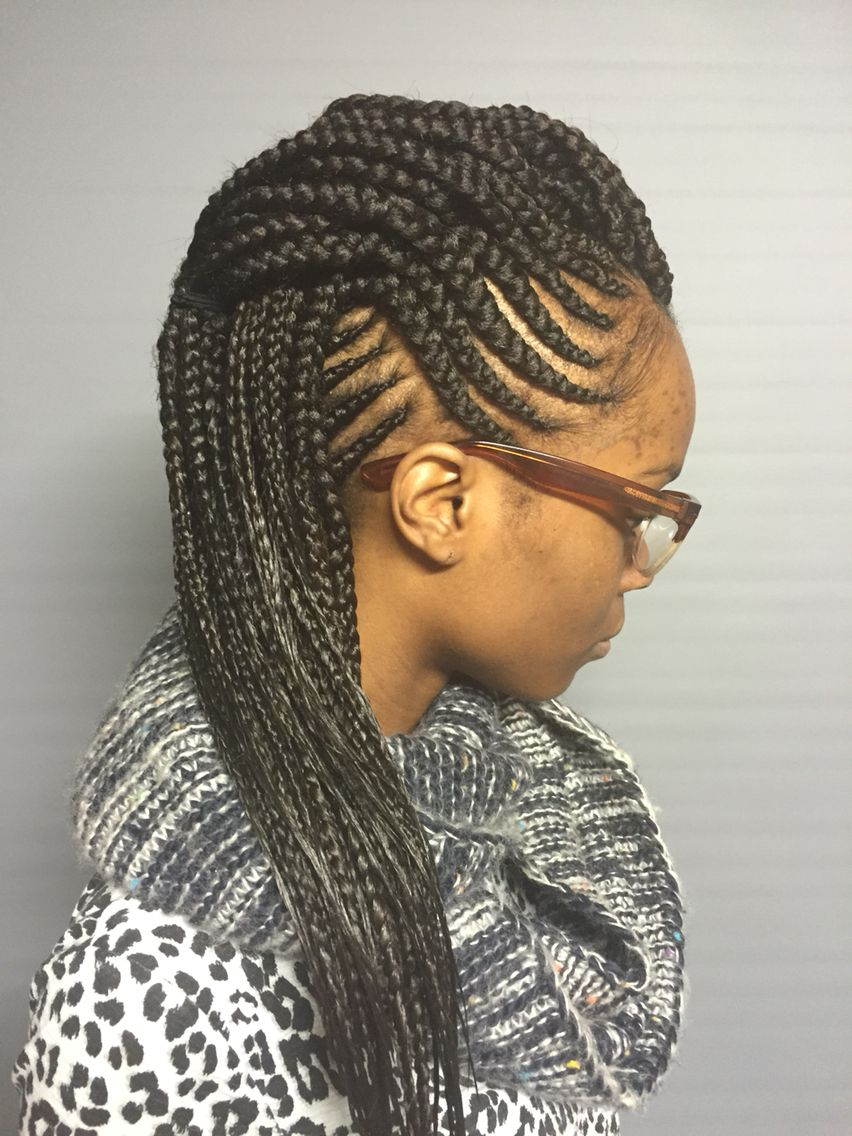Fresh mohawk hair pinterest mohawks and protective styles