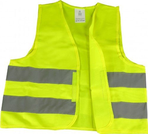 Auto & Motorrad: Warnweste EN471 gelb, knitterfrei, waschbar, Standardgröße - Kaufen Neu: EUR 1,87
