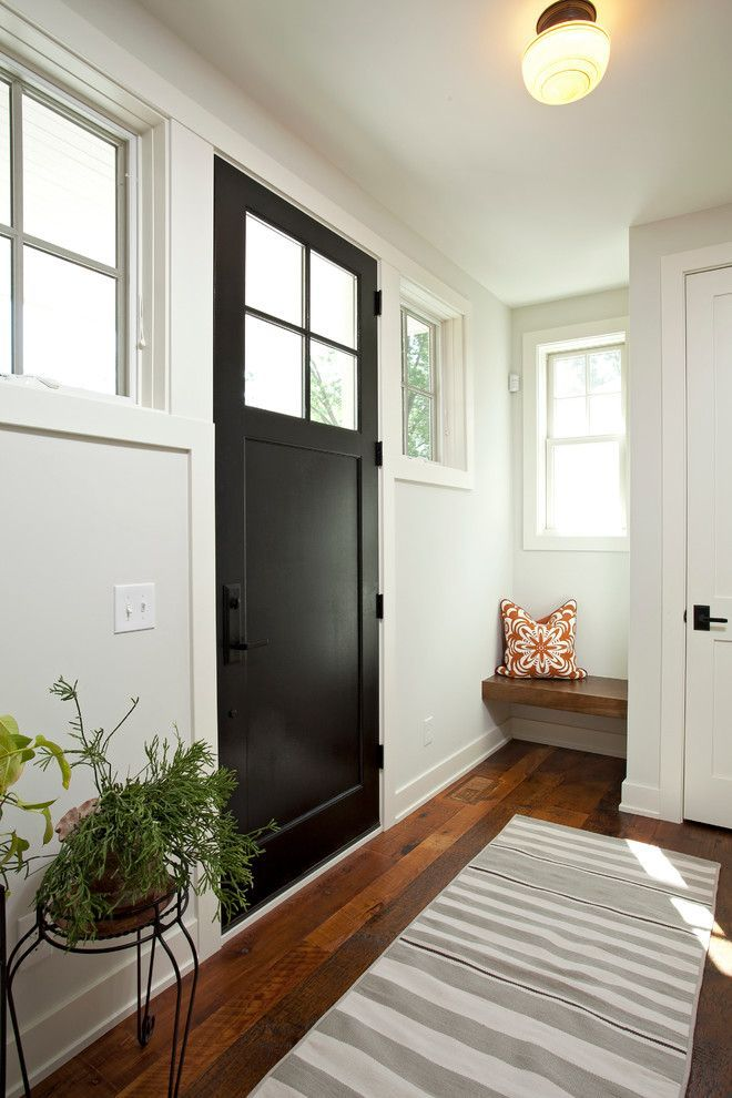 Image Result For Modern Farmhouse With Red Front Door