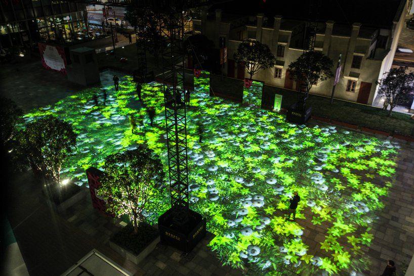miguel chevalier's power flowers create a digital garden of light ...