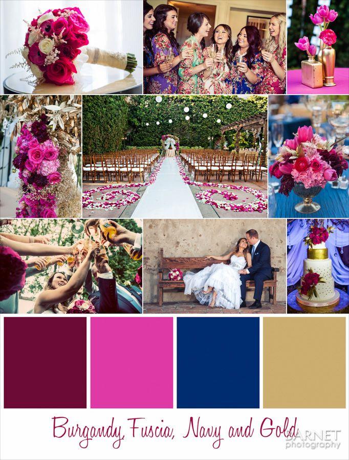 17 Wedding Color Palettes That We Love Wedding Color Schemes