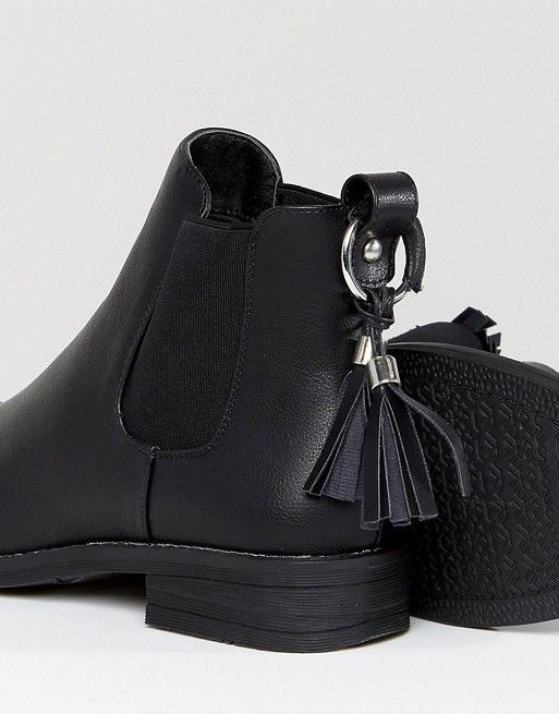 Black Tassel Detail Chelsea Boots - Black Lost Ink. For Sale Cheap Price Cheap New Arrival Discount Footlocker Finishline mfmHUfdO