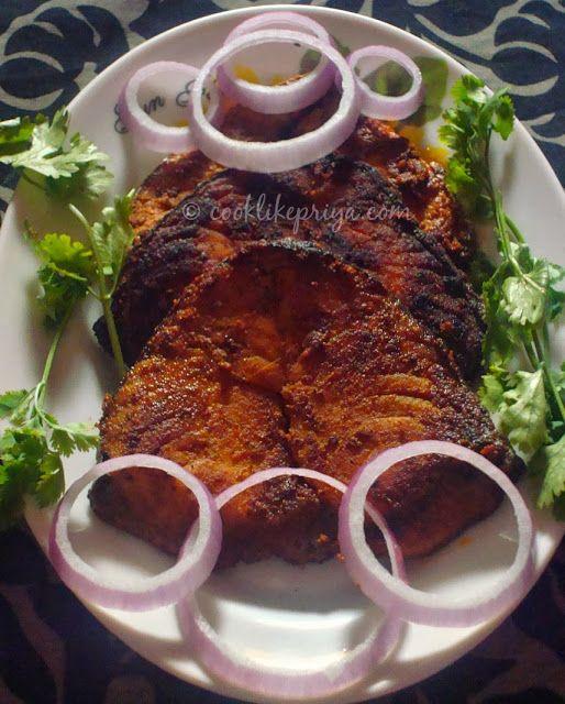 Cook like priya vanjaram meen varuval king fish fry recipe cook like priya vanjaram meen varuval king fish fry recipe south indian fish fry recipe forumfinder Choice Image