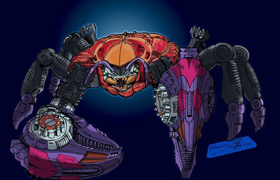 Beast wars Rampage beast mode King Crab