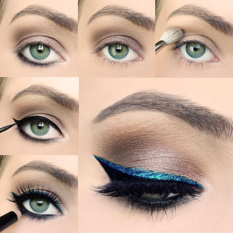 учимся красить глаза в картинках меньшую роль