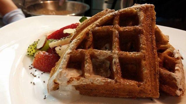 Multigrain Waffles #KVIAFit15