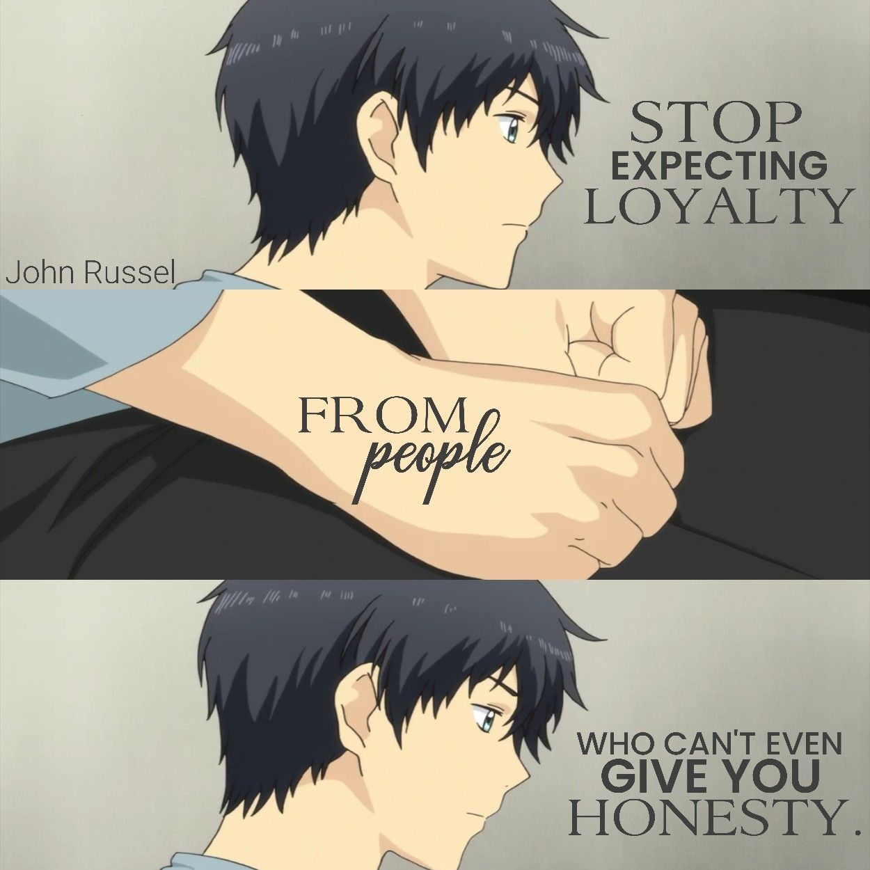 Sad Anime Quotes Before Death