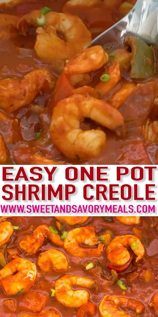 Photo of Shrimp Creole [Video] – Sweet and Savory Meals