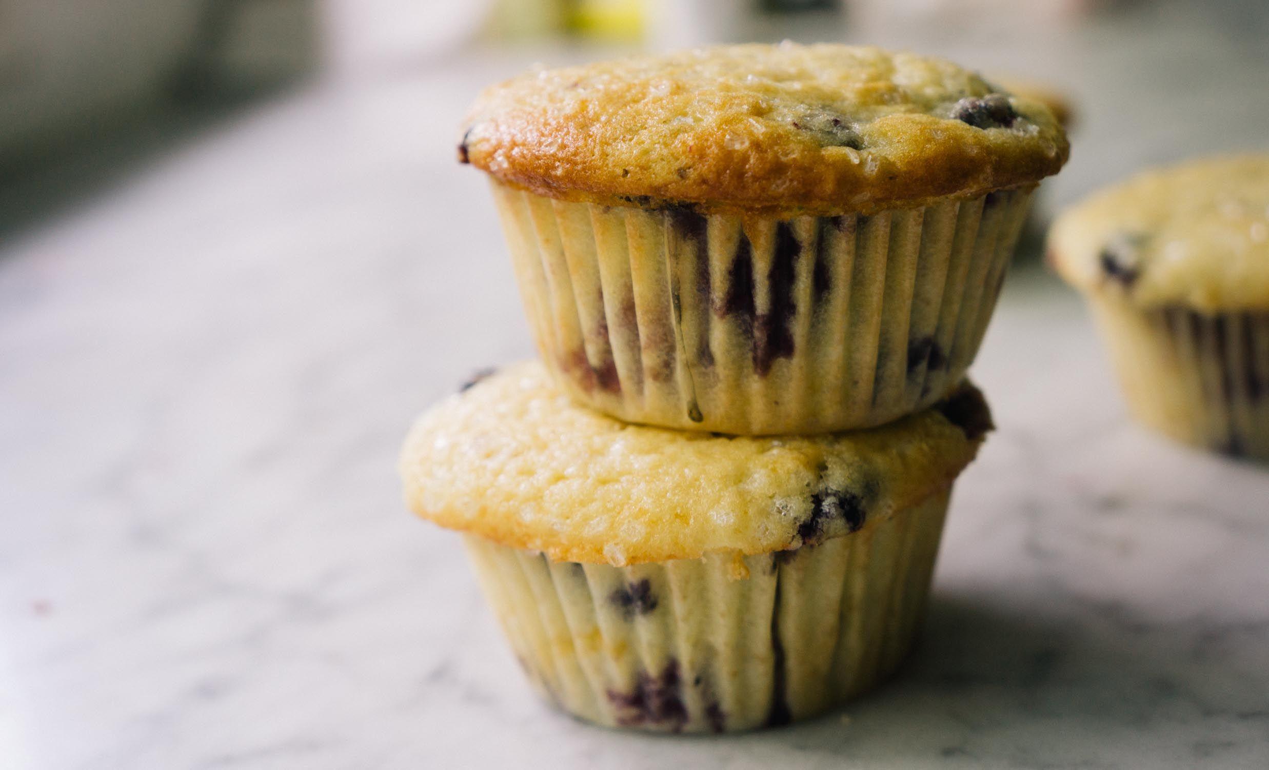 Summer Berry Buttermilk Muffins — Love, Cake