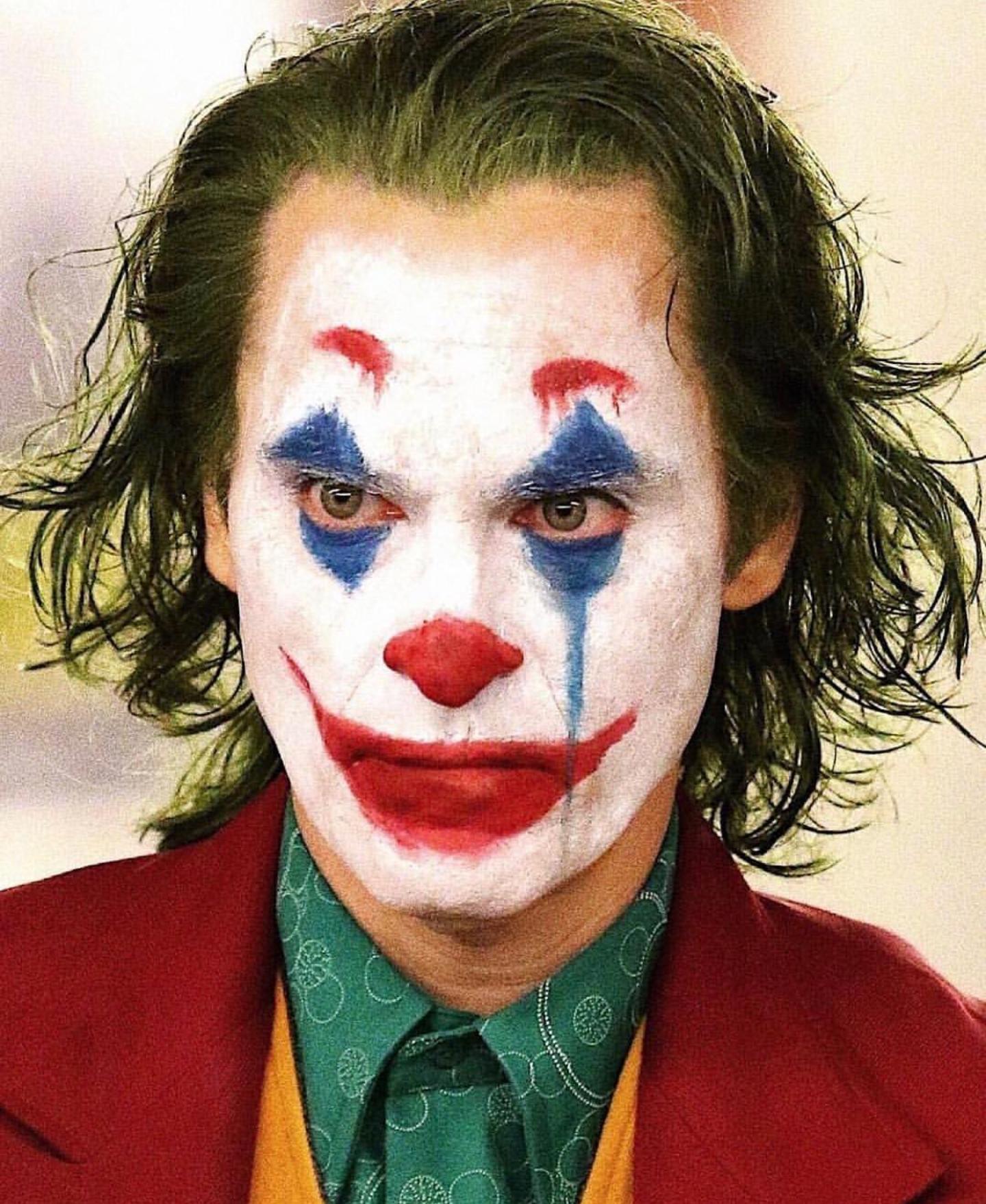 Joker Face Makeup Png
