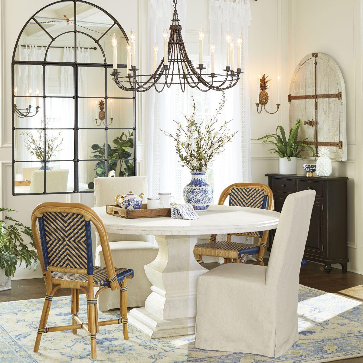 "Andrews Pedestal Dining Table - 48"""