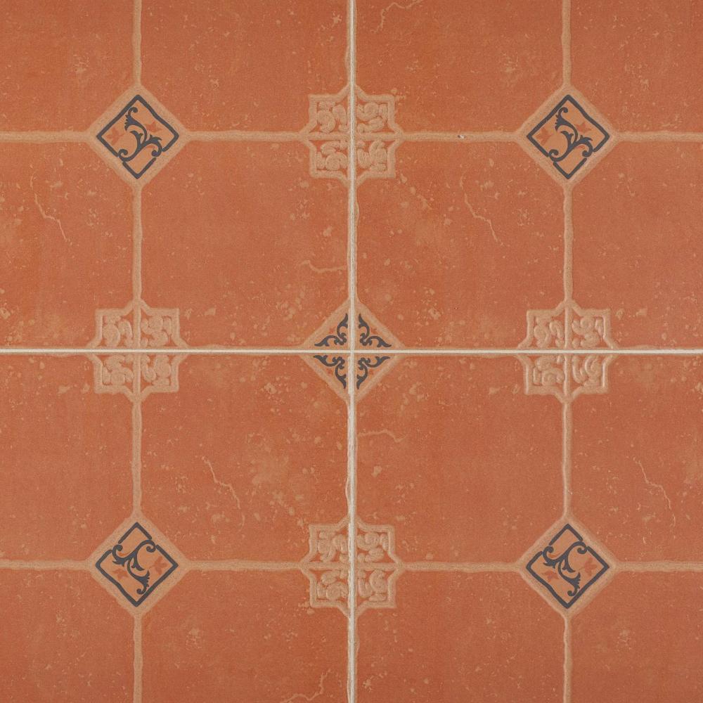 Watson Rojo Ceramic Tile Ceramic Floor Tiles Ceramic Tiles Mexican Tile Floor