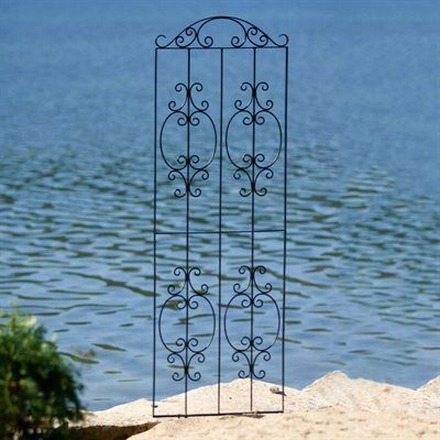 H Potter GAR527 Wrought Iron Ornamental Trellis BDB