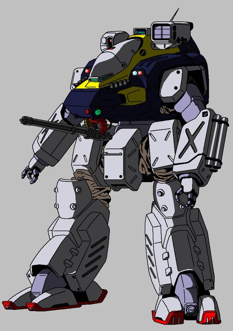 patlabor gundam crossover 2