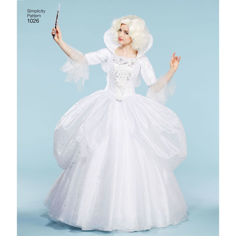 Authentic Disney Cinderella And Fairy Godmother Costumes For