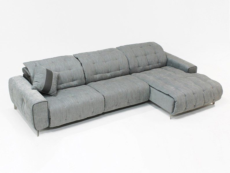 Divano Con Seduta Relax.Divano Soft Relax Con Seduta Estraibile E Motore Elettrico Offerta