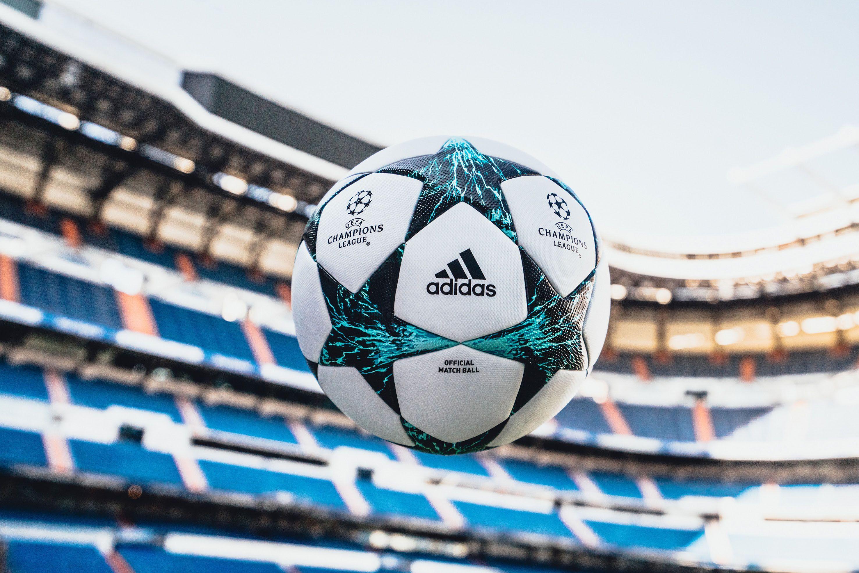 b413b80a4182ad Com raios e trovões, Adidas revela a bola da Champions League 2017-2018