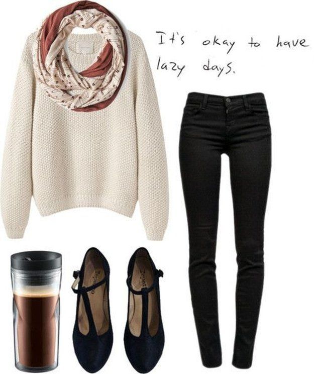 ed0819f54c097 The Lazy Day Look | Cute College Outfit ideas To Match Your Natural Makeup