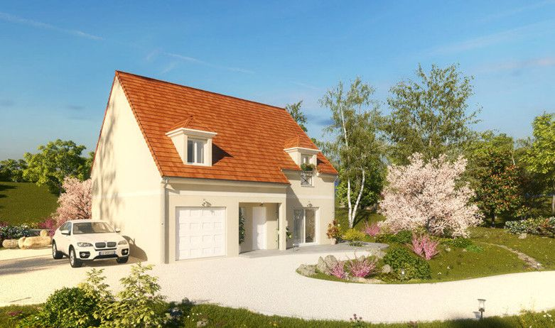 Modèle  Cadence / 4 chambres / 132 m² - Harmonie et élégance sont - modele maison a construire