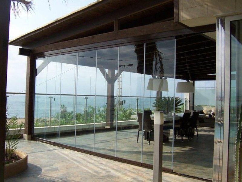 Pin de Carpintería Metálica Lozano en Cortinas de cristal - cortinas para terrazas
