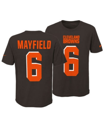 3f46bb4c6 Nike Baker Mayfield Cleveland Browns Pride Name and Number 3.0 T-Shirt