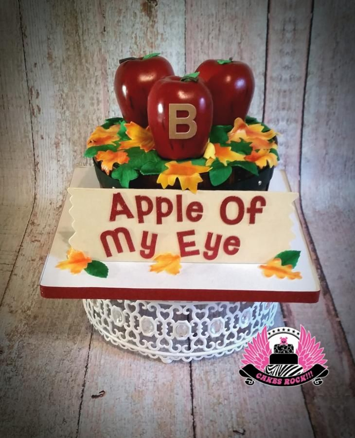 Apple Of My Eye Gluten Free Vegan Cake By Cakes ROCK Austin Texas