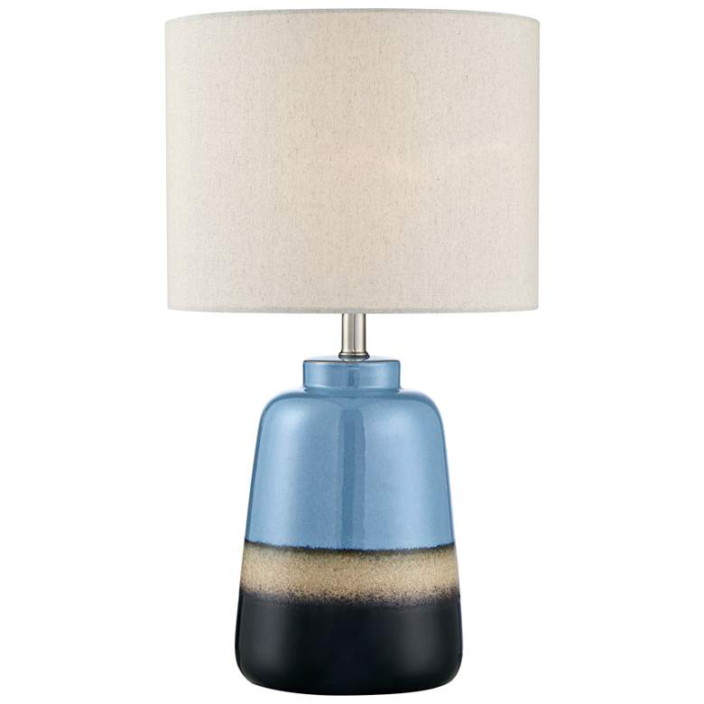 Lite Source Cinclare Two Toned Ceramic Accent Table Lamp 69r42 Lamps Plus Lamp Lamps Plus Accent Table