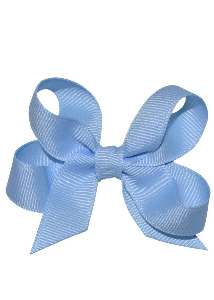 Pretty Pastel Blue Girls Hair bows  #girlsaccessories #girls #girlshair #hairbows #children #accessoires