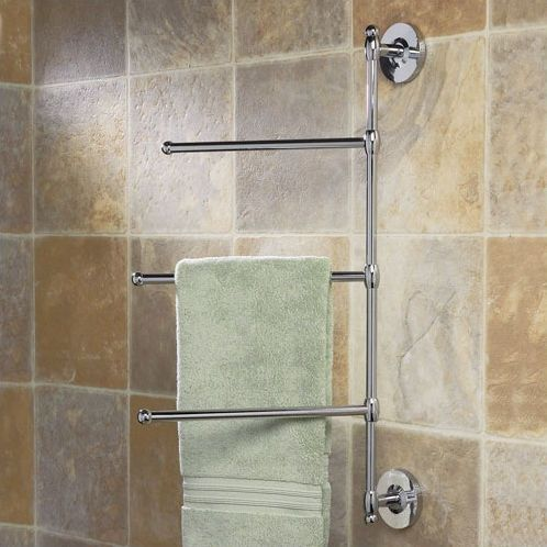 Modern Style Bath Wall Mount Towel Holder And Robe Hook By Comfify Shower Remodel Tile Tub Surround Room Tiles