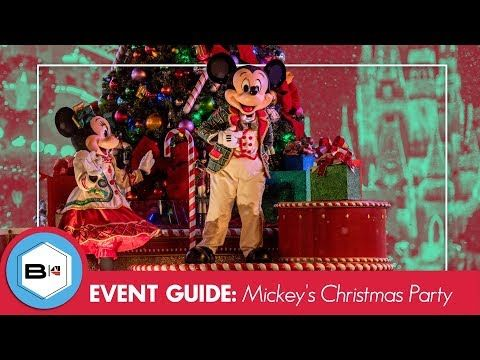 Guide to the 2018 Mickey\u0027s Very Merry Christmas Party, Magic Kingdom