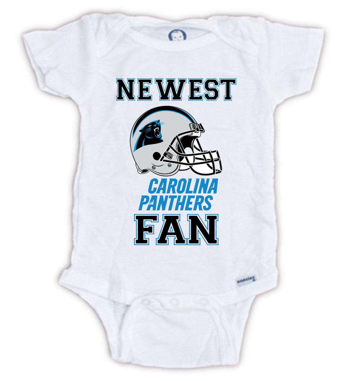 carolina panthers baby shirt